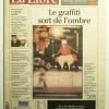 """Couverture journal"""" La Libre Belgique"""" Nov 2004"""