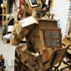 Pur(interro)gatoire -automate- reclaimed wood